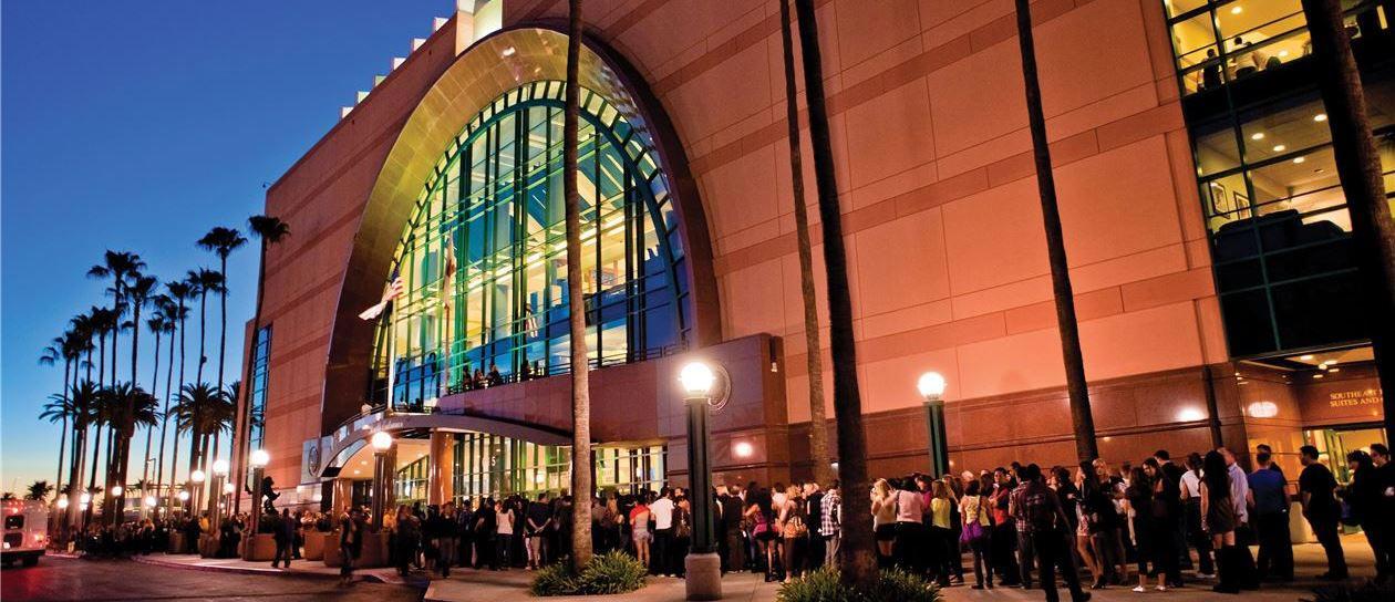 Honda Center at California