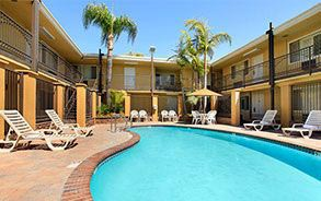 Outdoor Pool at Anaheim Hotel